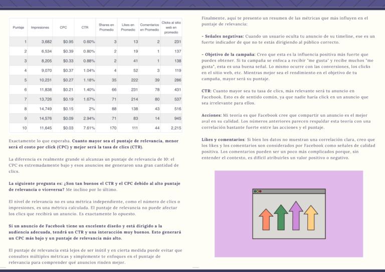 Puntaje de Relevancia - Relevance Score
