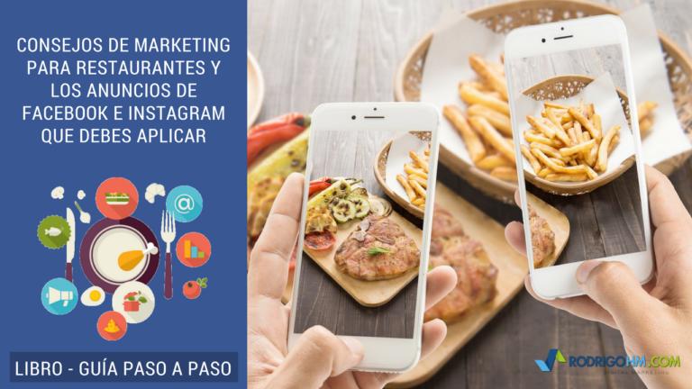 Facebook e Instagram para Restaurantes