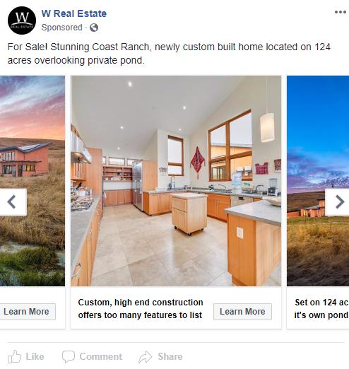 Publicidad para bienes raíces que venden más propiedades 5