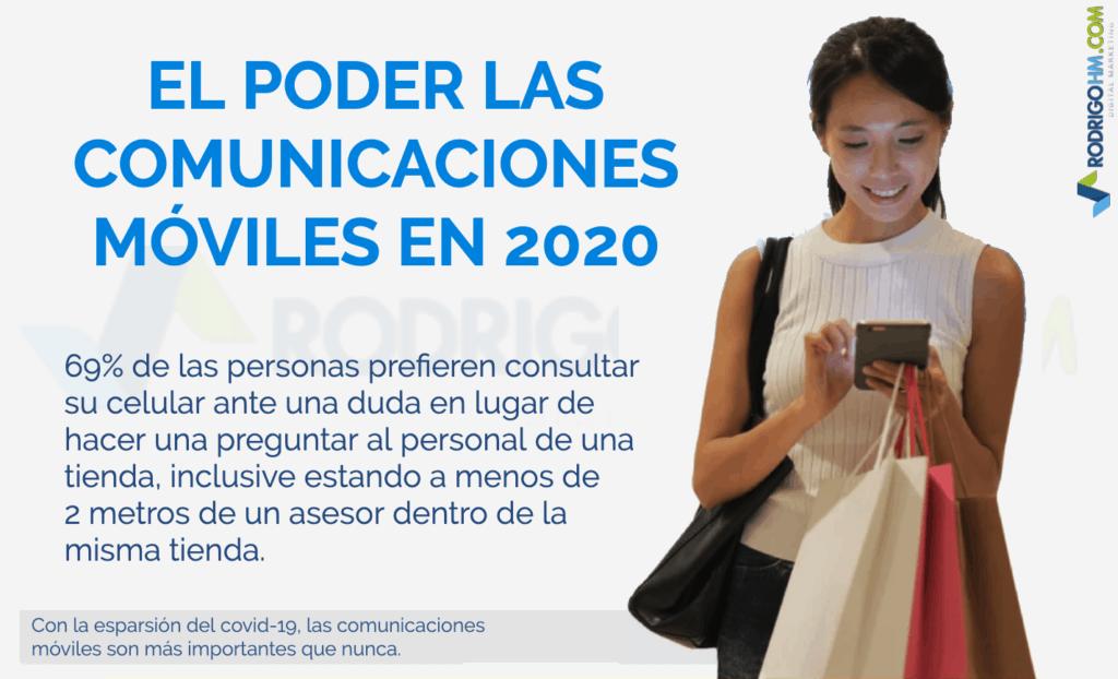 El poder de las Comunicaciones Móviles en 2020